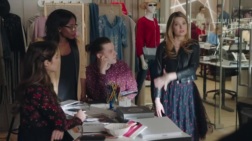 """Actress Meghann Fahy talks about auditioning for younger roles before landing the lead in """"The Bold Type,"""" and how the show, while female-driven, embraces both genders equally. (Aug. 6)"""