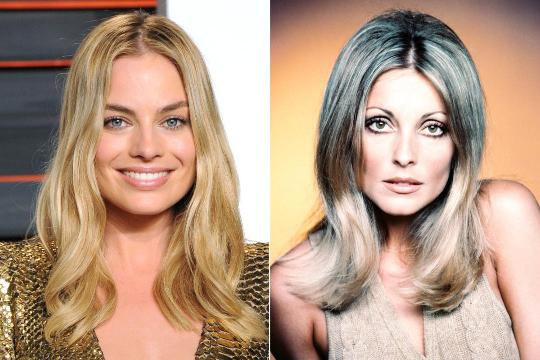 Margot Robbie has shared the first look at herself in character as Sharon Tate in Quentin Tarantino's upcoming film Once Upon a Time in Hollywood.