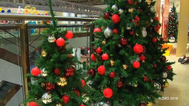 department store kicks off christmas shopping in august