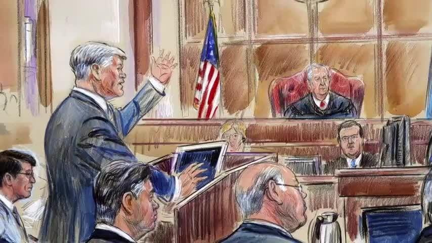 """The star witness at former Trump campaign chairman Paul Manafort's fraud trial says he stole from his former boss because of personal struggles. AP's Eric Tucker was in the court room and says it was """"by far the most dramatic day of testimony."""" (Aug. 7)"""