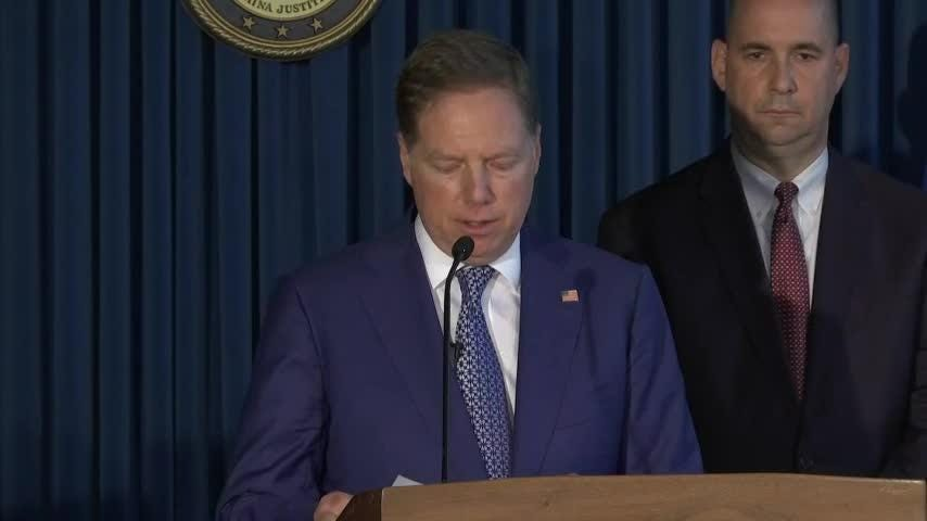 Rep. Chris Collins, a Republican from western New York was arrested on charges of insider trading. U.S. Attorney Geoff Berman says he tipped family and friends off from information he gleaned from sitting on the board of a pharmaceutical company. (Aug. 8)