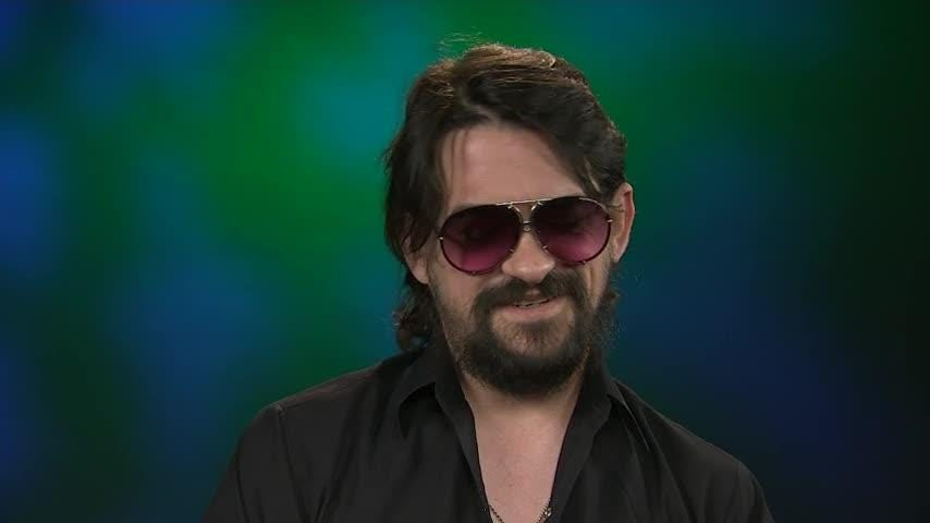 """Country musician Shooter Jennings talks about recording new album """"Shooter"""" in his hometown of Nashville and says he's finally come to terms with father Waylon's legacy. (Aug. 9)"""