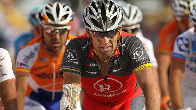 "Lance Armstrong posted a photo of his bloody face on Instagram on Wednesday after visiting the Aspen Valley Hospital. Armstrong said in the Instagram post that he was getting his ""head checked"" after going down on the Tom Blake Trail."