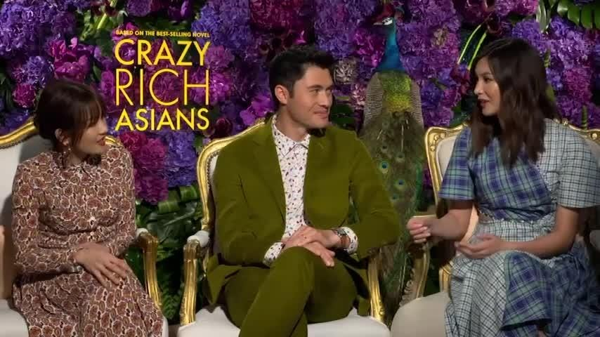"The stars of ""Crazy Rich Asians"" soaked up the culture and cuisine while filming in Singapore. (Aug 9)"