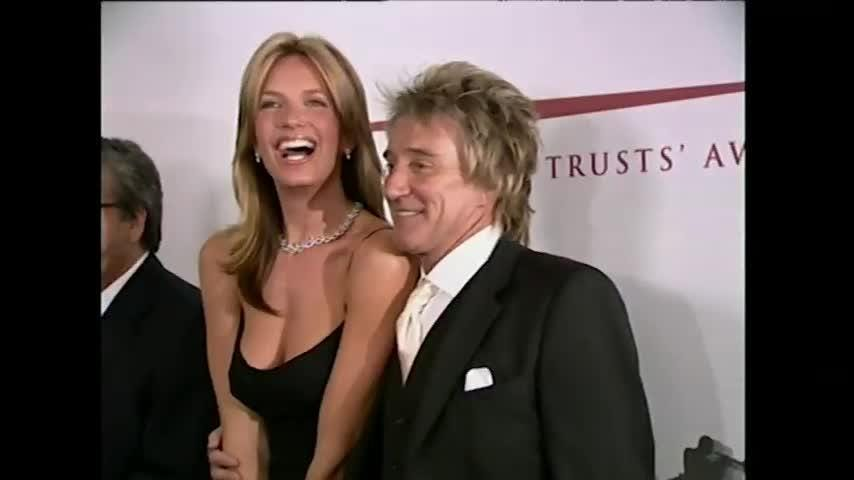 """More than fifty years into his career, Rod Stewart shows no sign of slowing down. When he's not on tour, he's busy at home chasing his two young sons, Aiden and Alastair, around the yard. And next month, he will release his 30th studio album, """"Blood Red Roses."""" (Aug. 10)"""