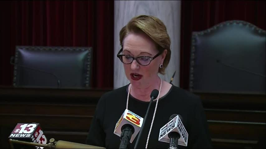 Impeached West Virginia Justice Robin Davis retires