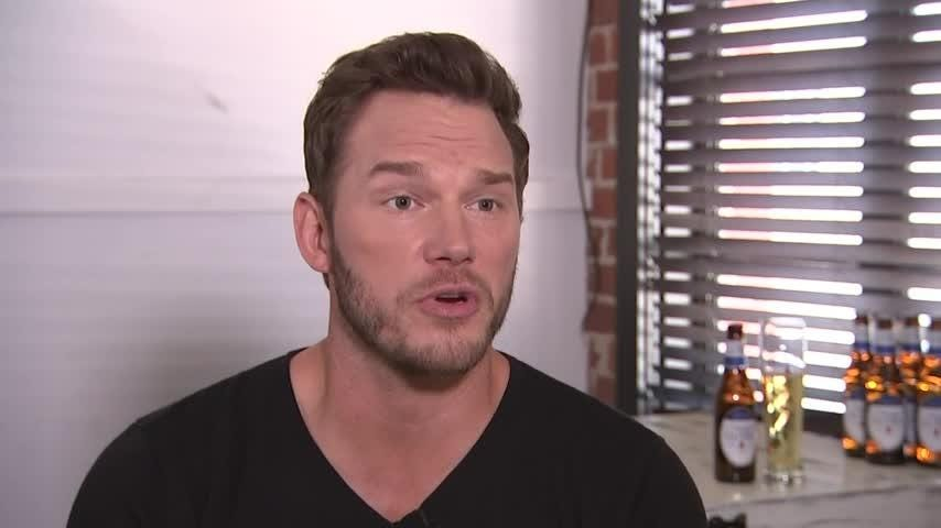 """Actor Chris Pratt says """"it's not an easy time"""" as the """"Guardians of the Galaxy"""" cast look to the future without writer/director James Gunn, who was fired by Disney because of old tweets. (Aug. 15)"""