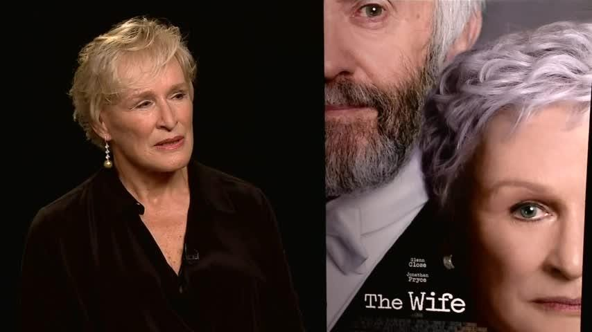 """While promoting """"The Wife,"""" actress Glenn Close remembers her longtime friend Robin Williams, the subject of two new documentaries. (Aug. 15)"""