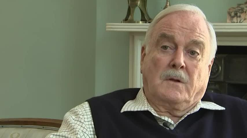 """""""Monty Python"""" star John Cleese says he's leaving the U.K. because the country is """"in a mess at the moment,"""" citing corruption in media and politics. (Aug. 15)"""