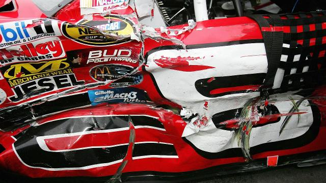 Dale Earnhardt Jr. has an interesting tale about how he survived a fiery wreck at Sonoma Raceway in 2004.