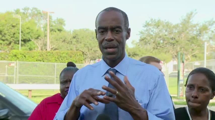 "Broward Schools superintendent Robert Runcie called the first day of school ""Bittersweet"" following the deadly shooting at Marjorie Stoneman Douglas High School in 2018. (Aug 15)"
