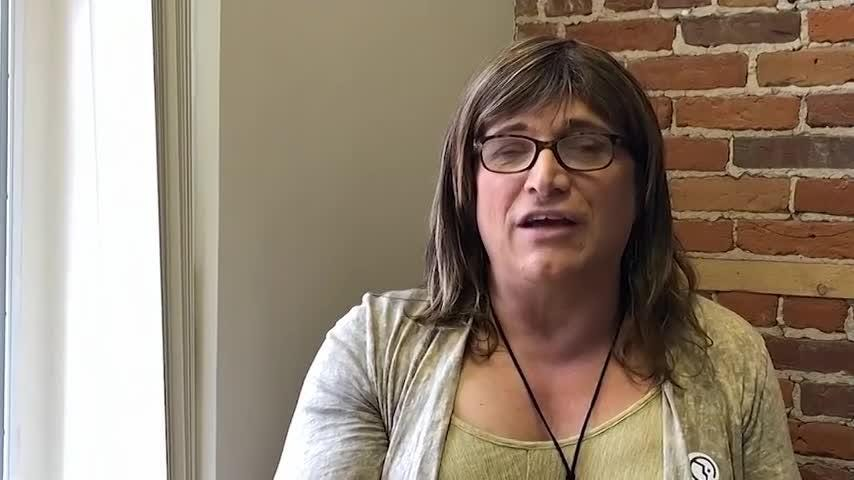 Christine Hallquist, the transgender former Vermont energy company executive, who won the state's Democratic primary is turning her sights on the November election and her upcoming political battle with the Republican incumbent. (Aug. 15)