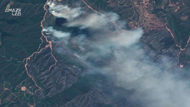 One factor that can make a wildfire especially difficult to fight is the occurrence of a weather phenomenon known as an inversion.