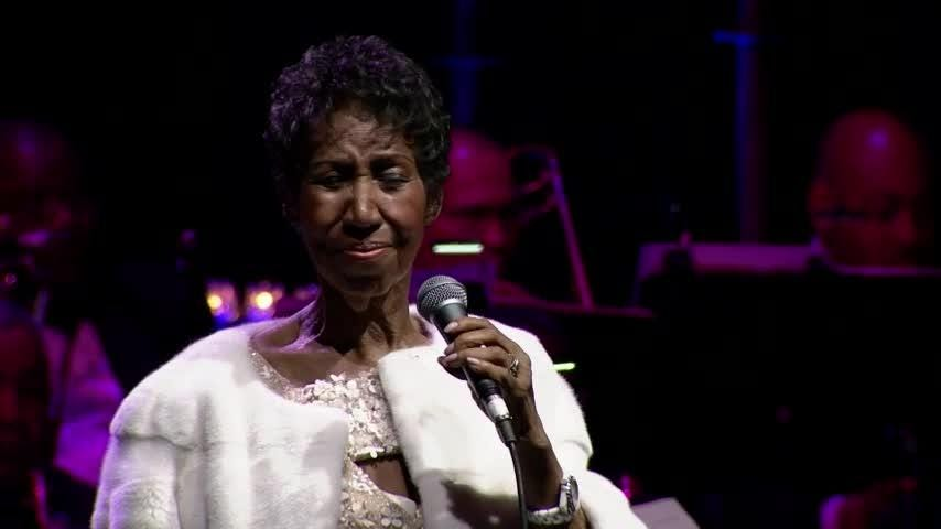 Aretha Franklin's final public performance