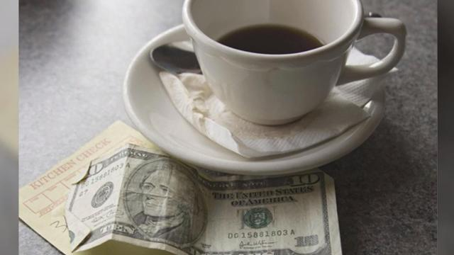 The #TipTheBill social media challenge encourages restaurant diners to tip the amount of their entire bill.