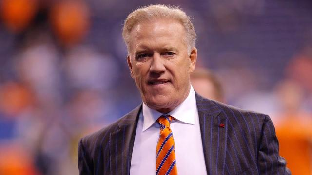 Broncos general manager John Elway indicated Thursday that former 49ers quarterback Colin Kaepernick would not be among the veteran talent that the Broncos would consider as a potential backup option.