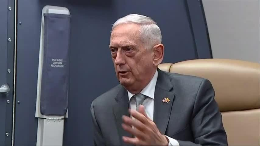 Defense Secretary Jim Mattis says the Taliban offensive on Ghazni, Afghanistan had six goals and that militants failed to reach them. He says the offensive will likely continue at least until Afghanistan holds elections in October. (Aug. 17)
