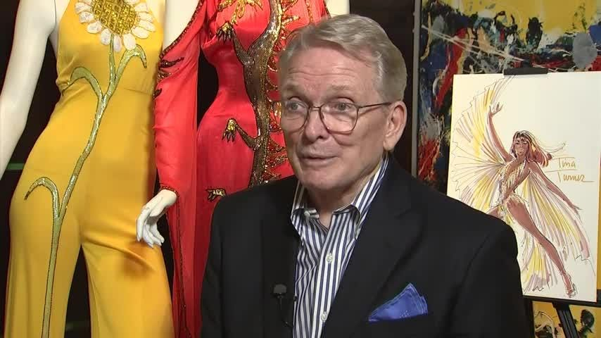 Legendary designer Bob Mackie talks about dressing Cher for half a century and making her outfit for her Oscar-winning evening in 1988. On November 17, over 200 creations from Mackie's personal collection will go under the hammer at Julien's Auctions in Los Angeles. (Aug. 17)