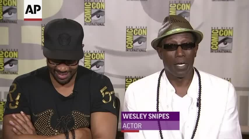 Wesley Snipes and RZA reveal the pull for them to make the post-Katrina action thriller 'Cut Throat City.' (Aug. 18)