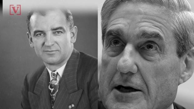 President Trump is now comparing special counsel Robert Mueller's investigation to McCarthyism.