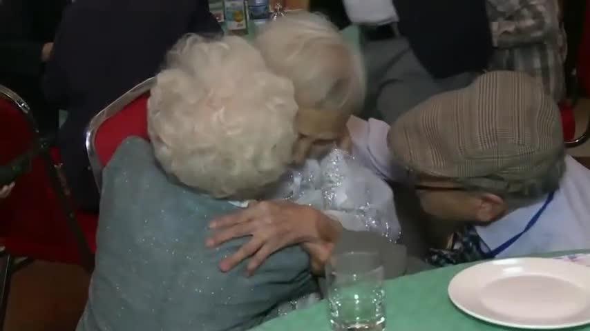 Korean families split by war briefly reunited