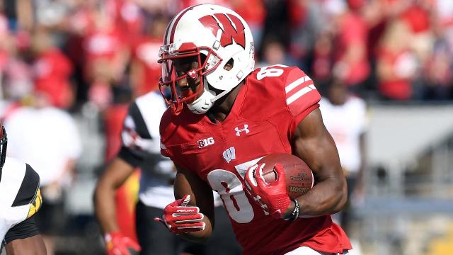 Wisconsin has suspended Quintez Cephus after authorities charged the wide receiver with two felony counts of sexual assault.