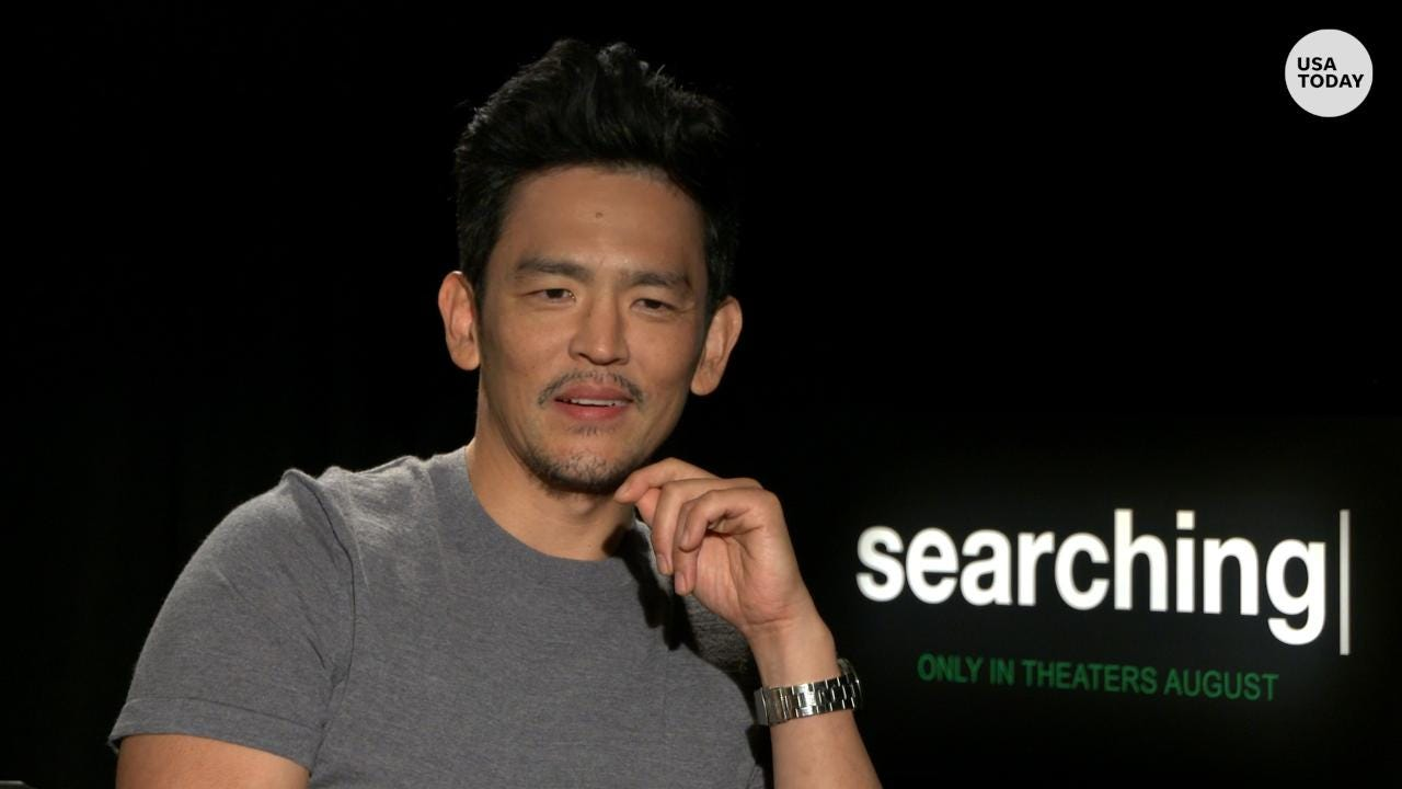 john cho tries really hard not to look cool in searching