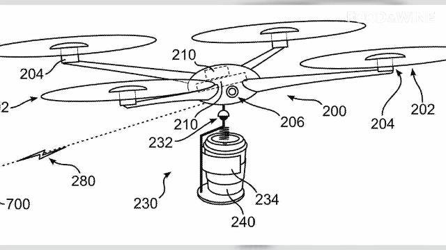 A coffee delivery drone could predict when you need a caffeine boost