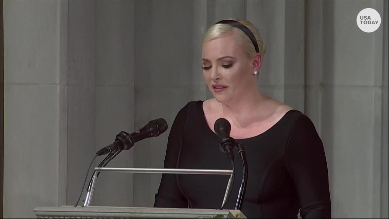 Meghan McCain: Read her emotional eulogy to her father John