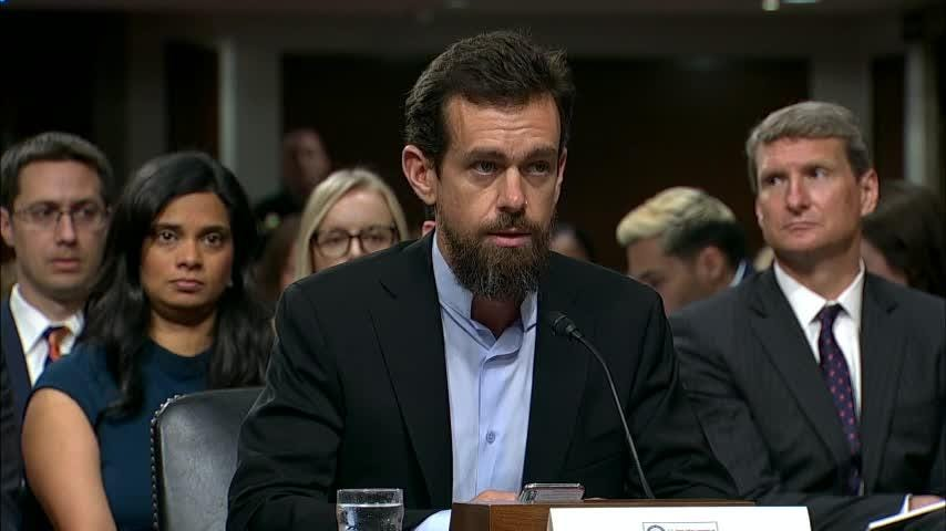 Facebook and Twitter executives defended their companies on Capitol Hill, saying they are aggressively trying to root out foreign influence as the November elections near. (Sept. 5)