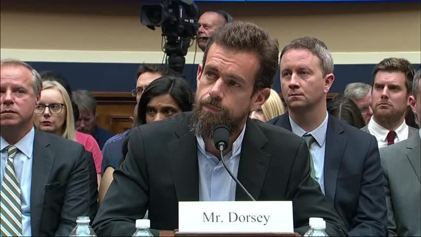 Lawmakers are sparring over whether a now-reversed change to auto-suggestions on Twitter unfairly hurt Democrats or Republicans more. Twitter CEO Jack Dorsey isn't saying which, but says he'll follow up. (Sept. 5)