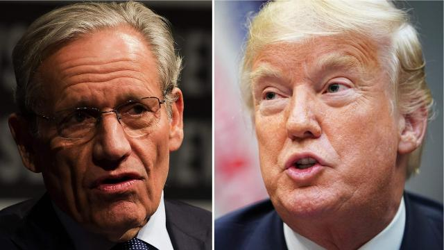 Amidst news of Bob Woodward's upcoming book, U.S. President Donald Trump and other White House officials have slammed the journalist.