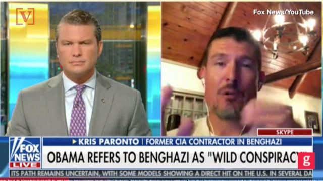Former CIA contractor on Fox News said he wanted to 'choke' Obama