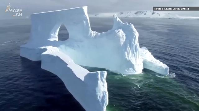 A company's wild plan to tow an iceberg from Antarctica to Dubai