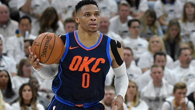 The Oklahoma City Thunder could be without their MVP point guard to start the season after Russell Westbrook had arthroscopic surgery on his right knee Wednesday, the team announced.
