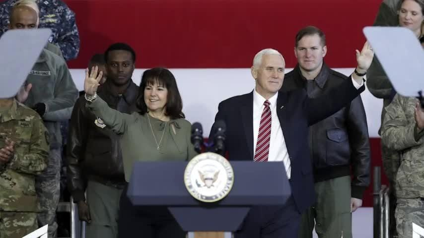 Karen Pence, Vice President Mike Pence's wife, is using her new cachet to call around on behalf of military spouses, looking to help them overcome the challenges that come with being wed to active-duty service members. (Sept. 13)