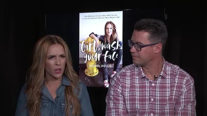 "Rachel Hollis says the success of her million-selling book, ""Girl, Wash Your Face,"" won't change who she is and how she dispenses advice.  She says she still wants to be thought of by her tribe of fans as their girlfriend rather than a guru. (Sept. 14)"