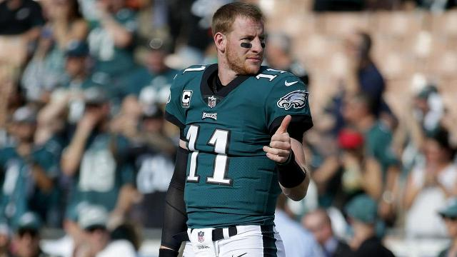 Quarterback Carson Wentz has been medically cleared and will start for the Philadelphia Eagles on Sunday against the Indianapolis Colts.