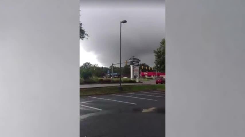 Florence spawns apparent tornado near Richmond
