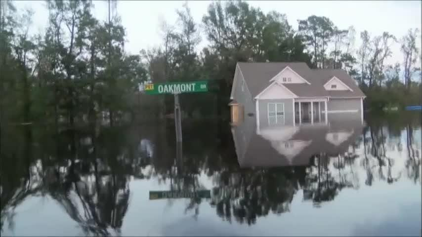 Greg Lovell has called his Hampstead, North Carolina, neighborhood home for 15 years, but only while battling floodwaters after Hurricane Florence has he met other members of his community facing the same struggles. (Sept. 21)