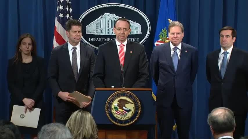 Deputy Attorney General Rod Rosenstein reportedly suggested secretly recording President Donald Trump last year. AP's Eric Tucker explains that Rosenstein denied the allegations, but uncertainty lies in what the president may do.  (Sept. 21)