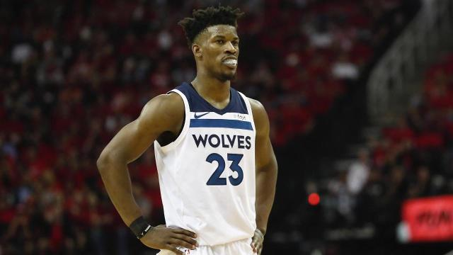 While the Timberwolves' front office has said they don't intend to trade Jimmy Butler, team owner Glen Taylor is willing to listen to offers for the All-Star, according to ESPN's Adrian Wojnarowski.