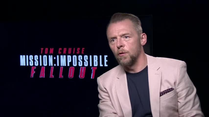 """British actor Simon Pegg credits his mother as his early acting inspiration, saying """"I just got the bug I guess."""" (Sept. 25)"""
