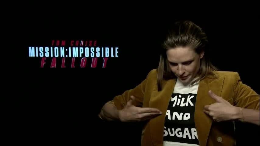 """""""Mission: Impossible"""" actress Rebecca Ferguson's first audition was for a deodorant commercial and she shudders to think that the footage is still out there. (Sept. 25)"""