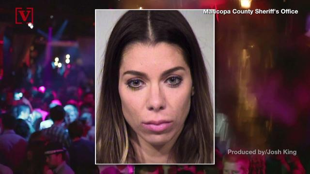 A mother in Arizona was arrested after she apparently left her 4-year-old daughter home alone when she went out to party.