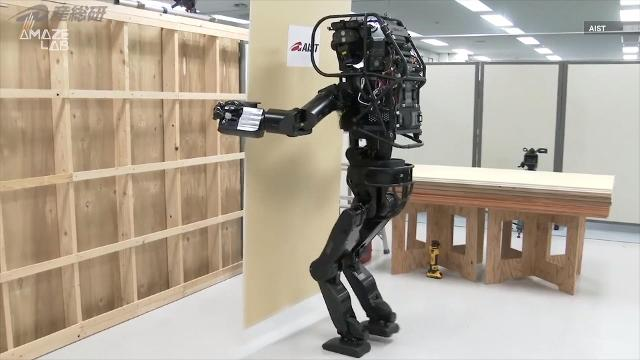 This Japanese construction-bot could one day build your home
