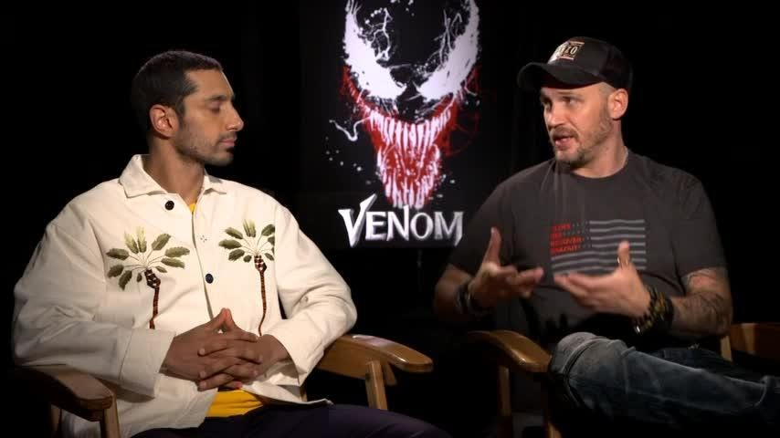 Tom Hardy discusses what made him take on the role of Venom and how he'd like to see some Marvel Cinematic Universe crossover action. (Oct. 4)