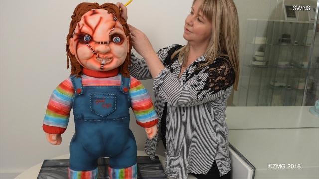 Check Out This Chucky Doll Cake
