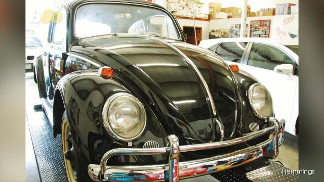 1964 Volkswagen Beetle with only 23 miles selling for $1 million