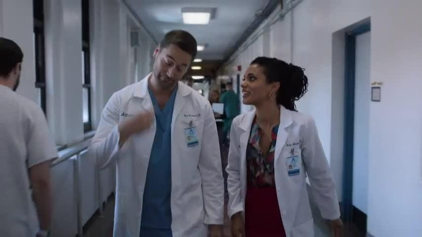 """NBC's 'New Amsterdam' was just picked up for a full TV season and one of its stars, Freema Agyeman, says the show hits a nerve about healthcare in the U.S., which viewers can relate to. The British actress says she herself has found navigating healthcare in the states to be """"overwhelming."""" (Oct. 10)"""
